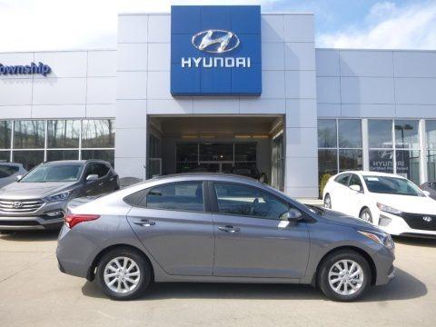 Urban Gray 2018 Hyundai Accent SEL