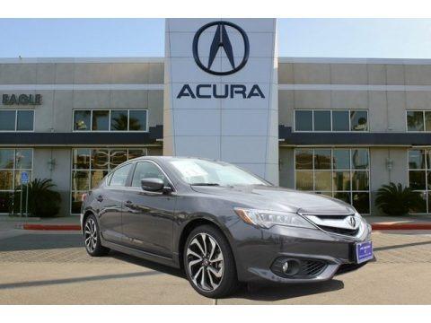 Modern Steel Metallic 2018 Acura ILX Premium