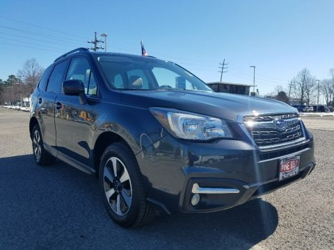 Dark Gray Metallic 2018 Subaru Forester 2.5i Limited