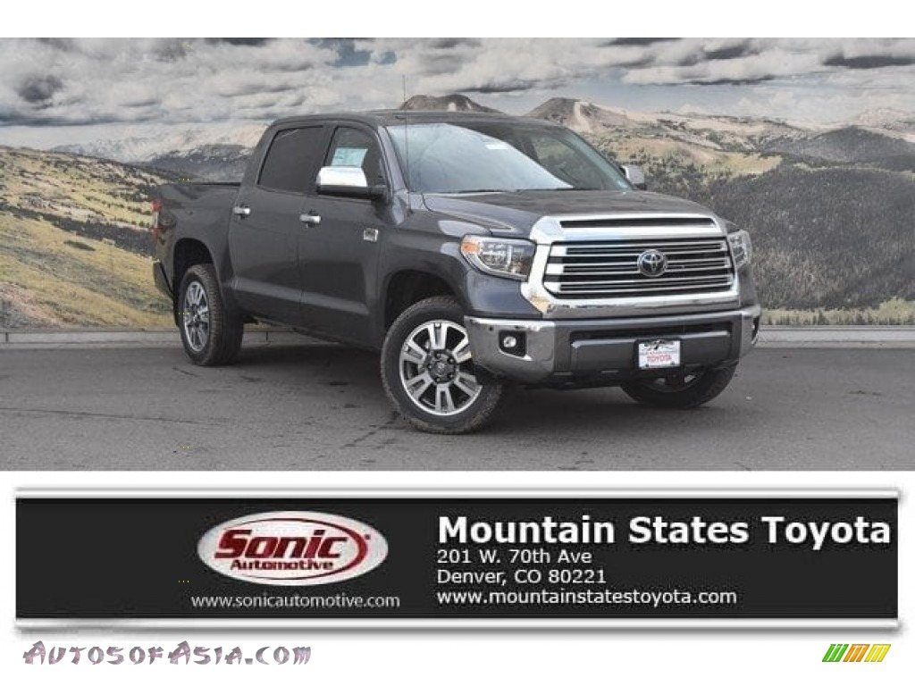 Magnetic Gray Metallic / 1794 Edition Black/Brown Toyota Tundra 1794 Edition CrewMax 4x4