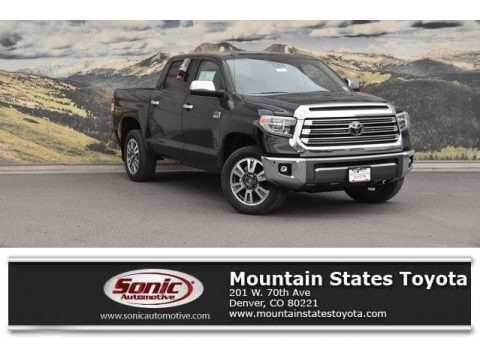 Midnight Black Metallic 2018 Toyota Tundra 1794 Edition CrewMax 4x4