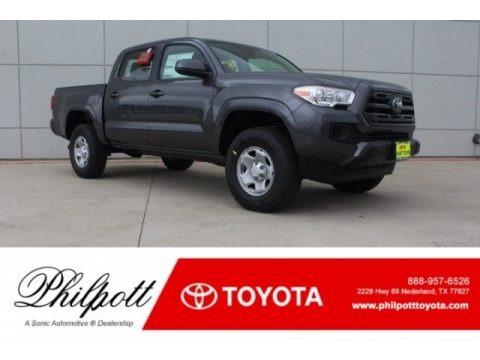 Magnetic Gray Metallic 2018 Toyota Tacoma SR Double Cab