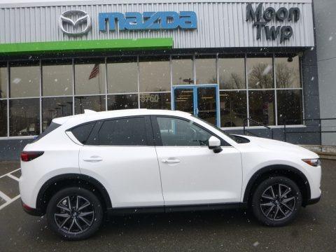 Snowflake White Pearl Mica 2018 Mazda CX-5 Touring AWD