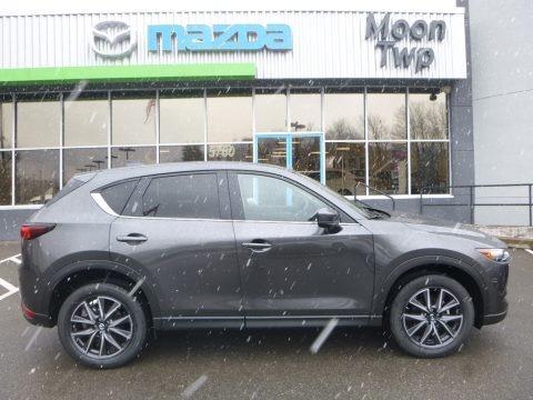 Machine Gray Metallic 2018 Mazda CX-5 Touring AWD