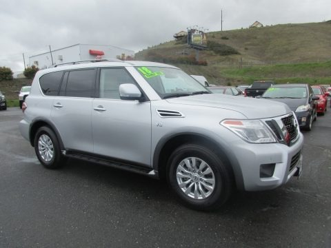 Brilliant Silver 2018 Nissan Armada SV