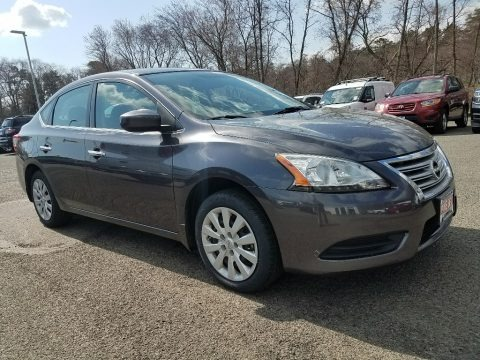 Magnetic Gray 2014 Nissan Sentra S