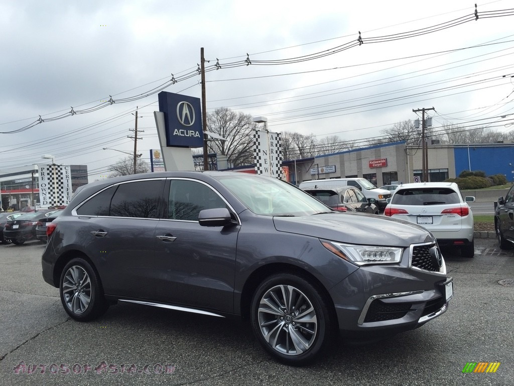 2017 MDX Technology SH-AWD - Modern Steel Metallic / Ebony photo #1