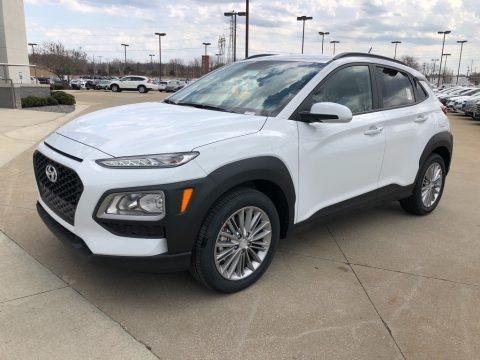 Chalk White 2018 Hyundai Kona SEL AWD