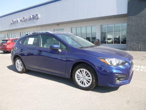 Lapis Blue Metallic 2018 Subaru Impreza 2.0i Premium 5-Door