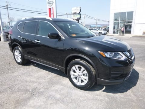 Magnetic Black 2018 Nissan Rogue S AWD