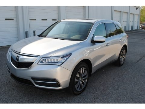 Silver Moon 2015 Acura MDX Technology