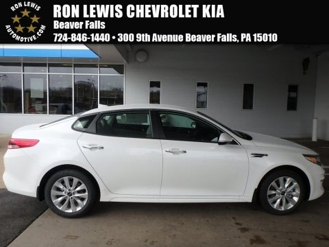 Snow White Pearl 2018 Kia Optima LX