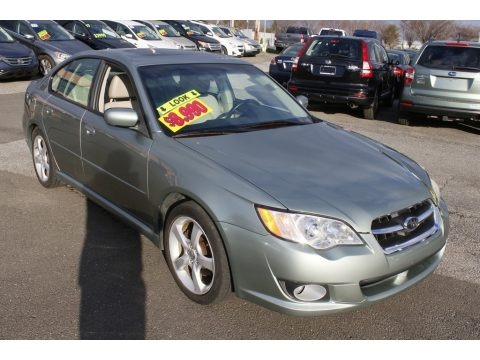 Seacrest Green Metallic 2009 Subaru Legacy 2.5i Limited Sedan