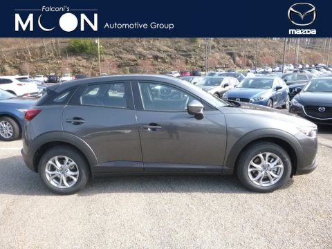 Machine Gray Metallic 2018 Mazda CX-3 Sport AWD