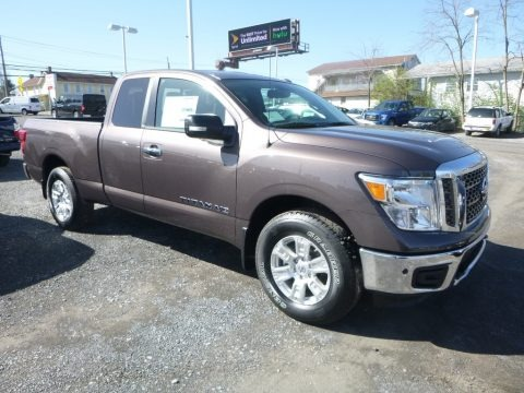 Java Metallic 2018 Nissan Titan SV King Cab 4x4