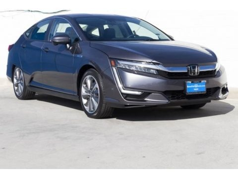 Modern Steel Metallic 2018 Honda Clarity Plug In Hybrid