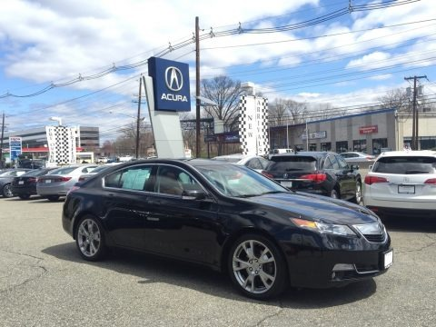 Crystal Black Pearl 2014 Acura TL Advance SH-AWD