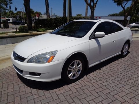 Taffeta White 2006 Honda Accord EX-L Coupe