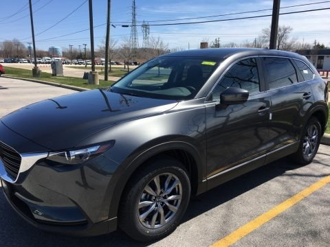 Machine Gray Metallic 2018 Mazda CX-9 Sport AWD