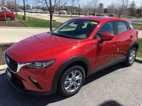 Soul Red Metallic 2018 Mazda CX-3 Sport AWD
