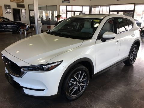 Snowflake White Pearl Mica 2018 Mazda CX-5 Grand Touring AWD