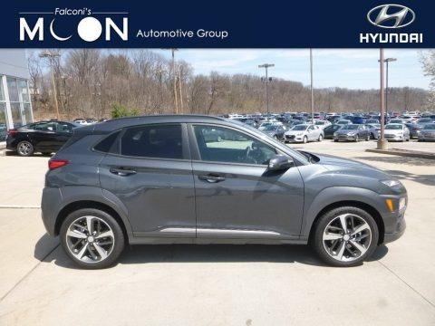Thunder Gray 2018 Hyundai Kona Limited AWD