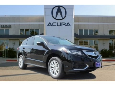 Crystal Black Pearl 2017 Acura RDX Technology