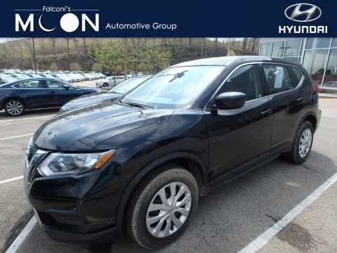 Magnetic Black 2017 Nissan Rogue S AWD