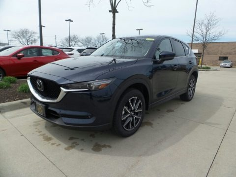 Deep Crystal Blue Mica 2018 Mazda CX-5 Grand Touring AWD