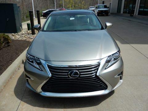 Atomic Silver 2018 Lexus ES 350