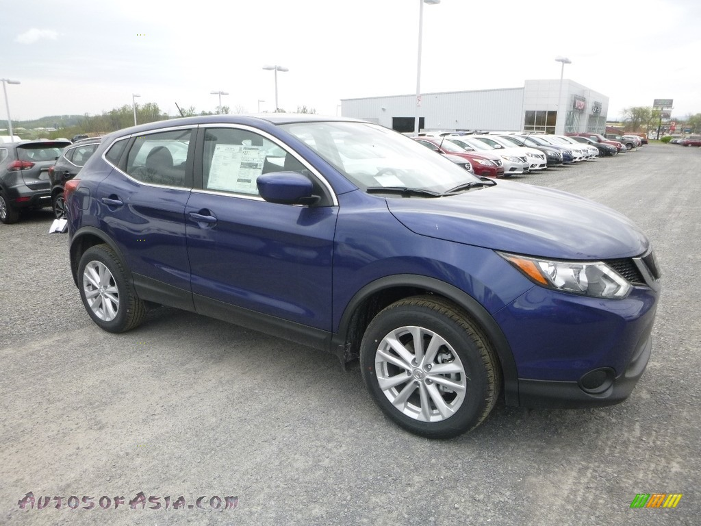 2018 Rogue Sport S AWD - Caspian Blue / Charcoal photo #1