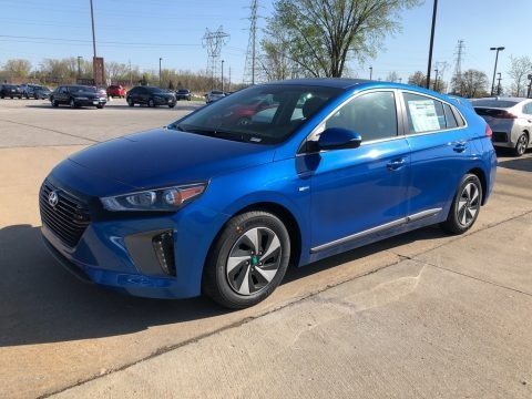 Electric Blue Metallic 2018 Hyundai Ioniq Hybrid SEL