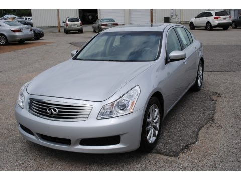 Liquid Platinum 2009 Infiniti G 37 Journey Sedan