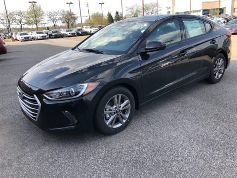 Phantom Black 2018 Hyundai Elantra Value Edition