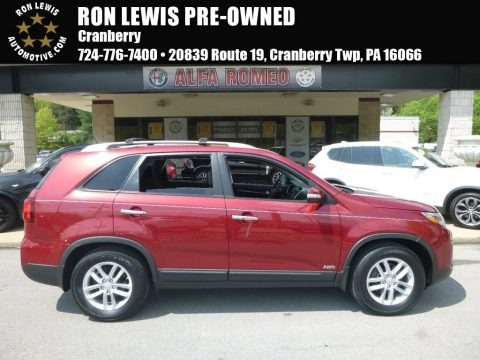 Remington Red 2014 Kia Sorento LX AWD