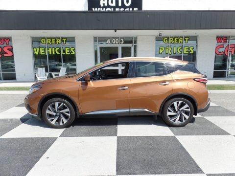 Java Metallic 2017 Nissan Murano Platinum AWD