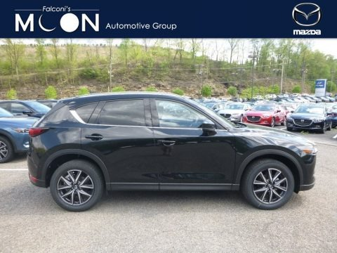 Jet Black Mica 2018 Mazda CX-5 Grand Touring AWD
