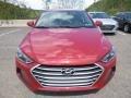Hyundai Elantra SEL Scarlet Red photo #4