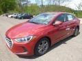 Hyundai Elantra SEL Scarlet Red photo #5