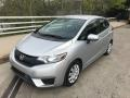 Honda Fit LX Alabaster Silver Metallic photo #1