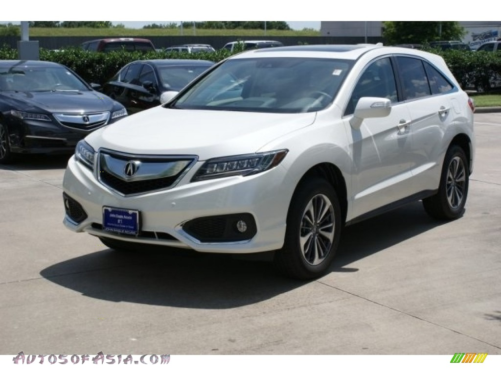 2016 RDX Advance - White Diamond Pearl / Parchment photo #3