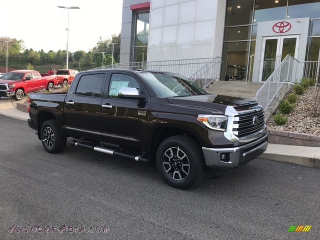 2018 Tundra 1794 Edition CrewMax 4x4 - Smoked Mesquite / 1794 Edition Black/Brown photo #1