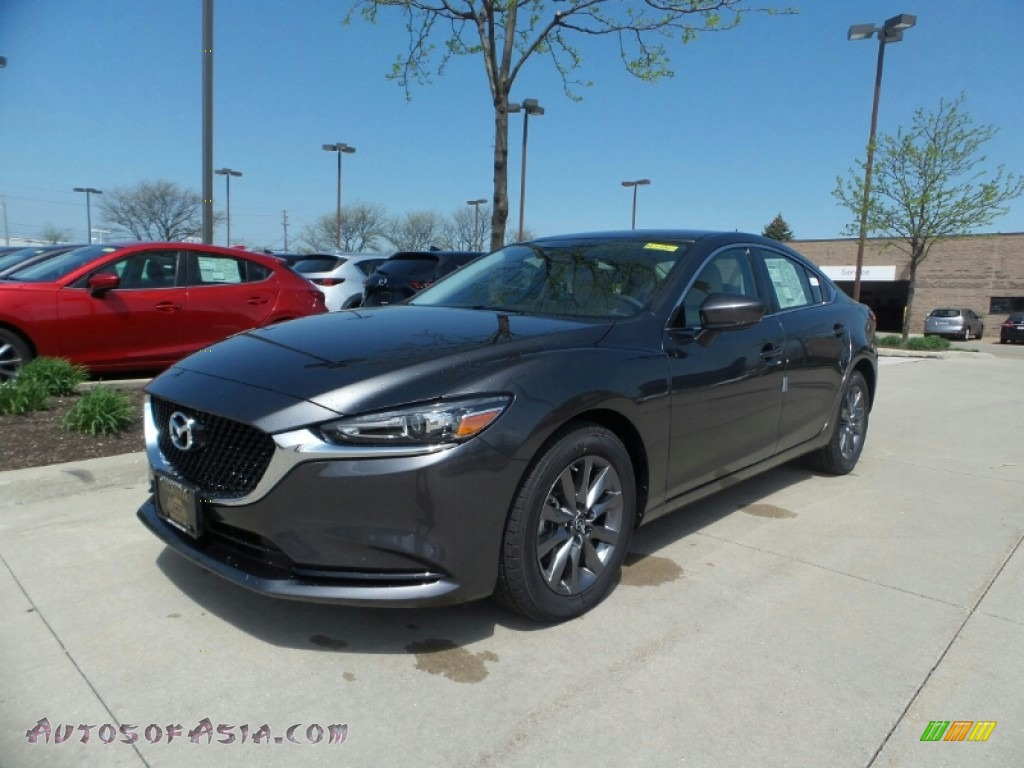 Machine Gray Metallic / Sand Mazda Mazda6 Sport