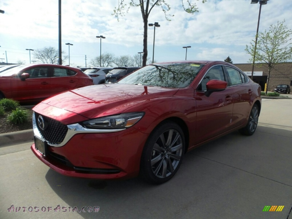 2018 Mazda6 Touring - Soul Red Crystal Metallic / Black photo #1