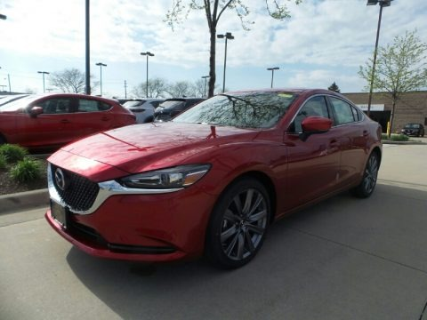 Soul Red Crystal Metallic 2018 Mazda Mazda6 Touring