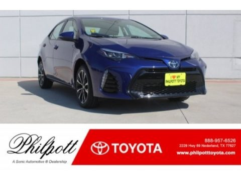 Blue Crush Metallic 2018 Toyota Corolla SE
