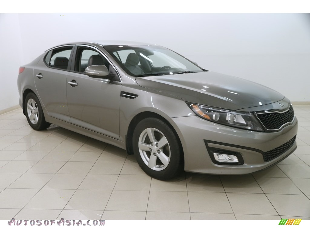 Titanium Metallic / Gray Kia Optima LX