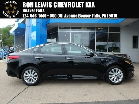 Ebony Black 2018 Kia Optima EX