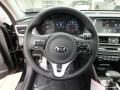 Kia Optima EX Ebony Black photo #16