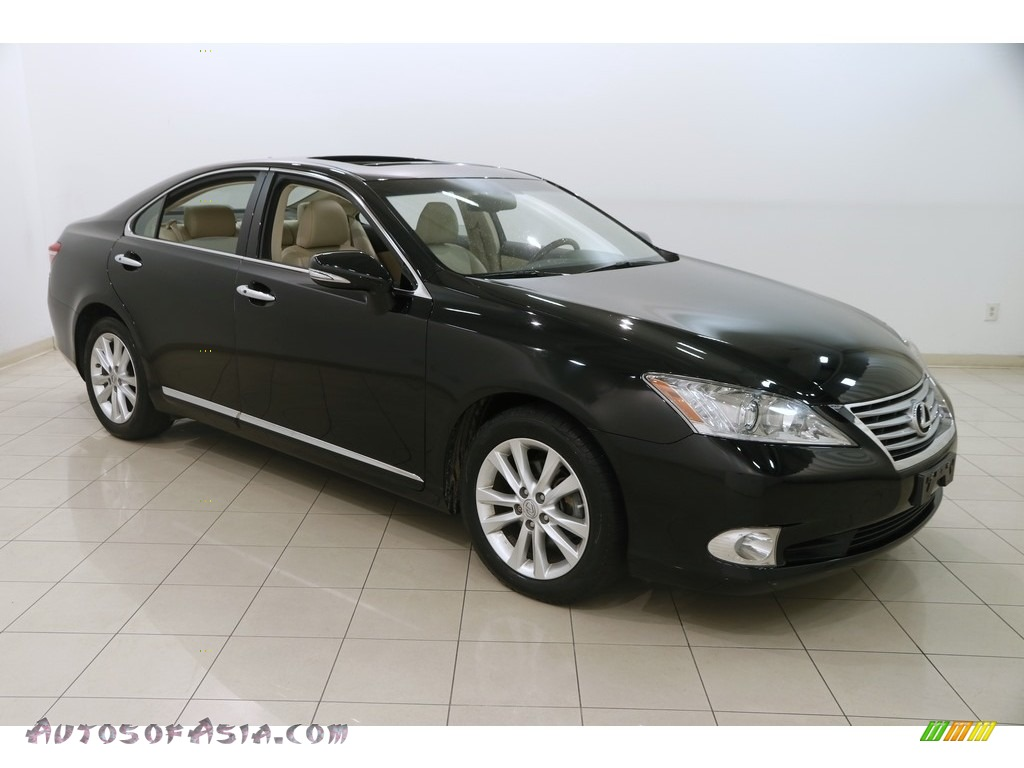 2011 ES 350 - Obsidian Black / Parchment photo #1